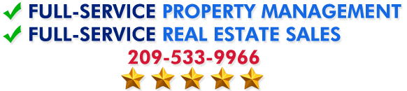 Full service Property Management and Real Estate in Tuolumne County and Calaveras County